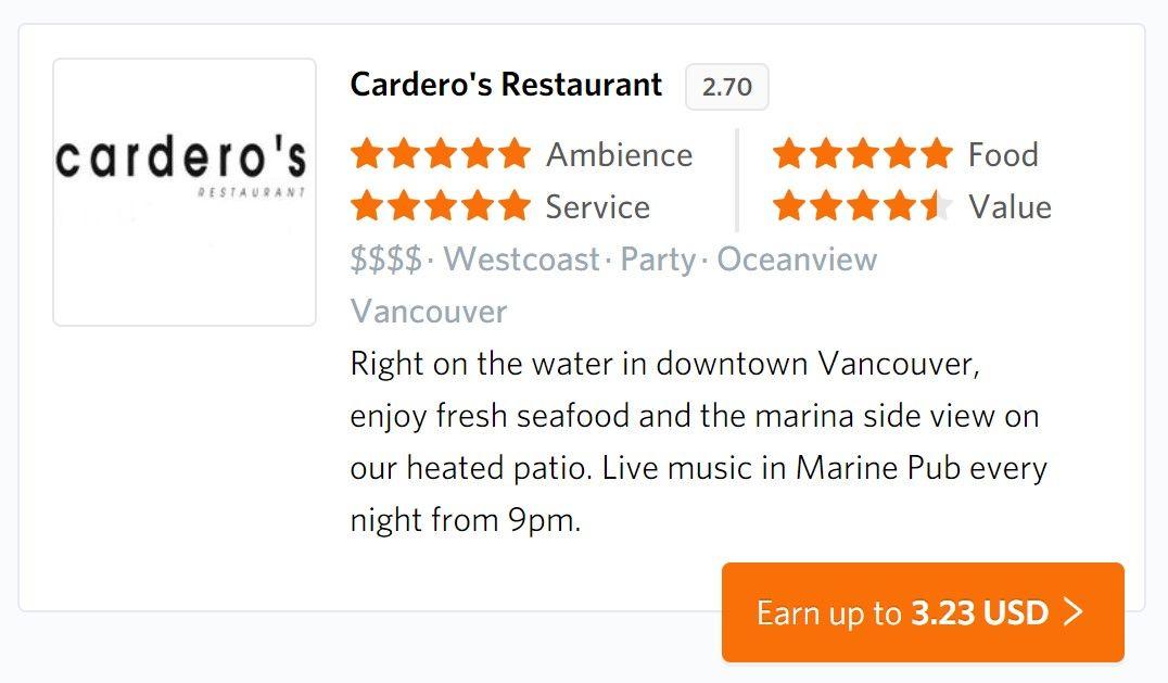Cardero's Restuarant (Vancouver)